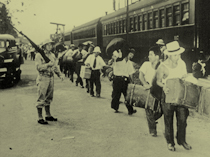 Japanese Peruvians en route to U.S. Internment Camps